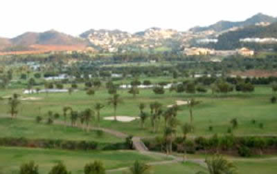 Golf course at La Manga Club on Spain's Costa Calida