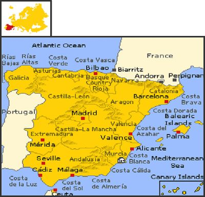 Map Of Spain La Manga.El Rancho 4 Bedroom Holiday Home At La Manga Club Costa Calida Spain