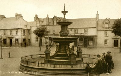 The Jubilee Fountain Biggar
