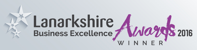Winner of the Lanarkshire Business Excellence Awards 2016